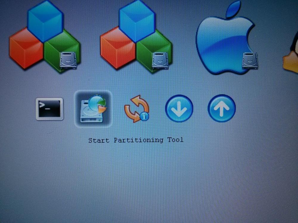 Arranca Live USB y Linux mbr en Mac OS X Apple con rEFIt. (3/5)