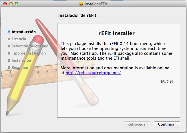 Arranca Live USB y Linux mbr en Mac OS X Apple con rEFIt. (1/5)
